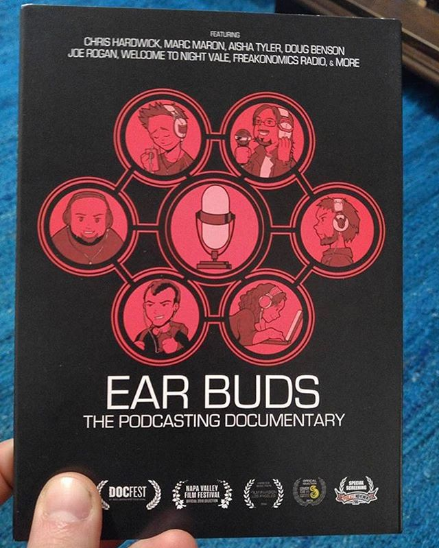 #Repost @cecilbaldwiniii ・・・ Lookit what I got in the mail today!! #earbudsdocumentary #welcometonightvale #workit #earbuds #podcast