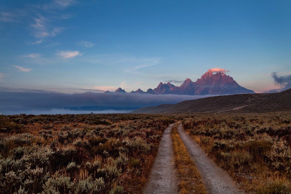 The River Road in Grand Teton Park is a rarely traveled route. Its rocky, dirt roads and remote nature keep the casual tourist at bay, but provides an adventurer solitude and phenomenal views.