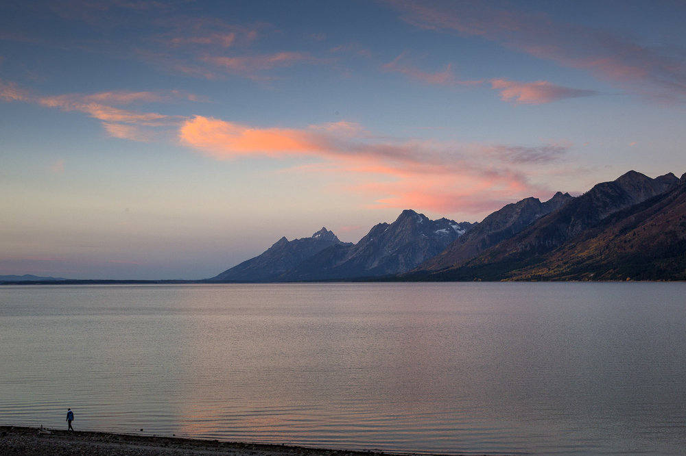 Dawn over Jackson Lake