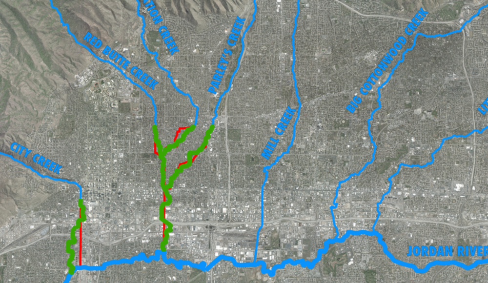 Proposed Daylighting Paths