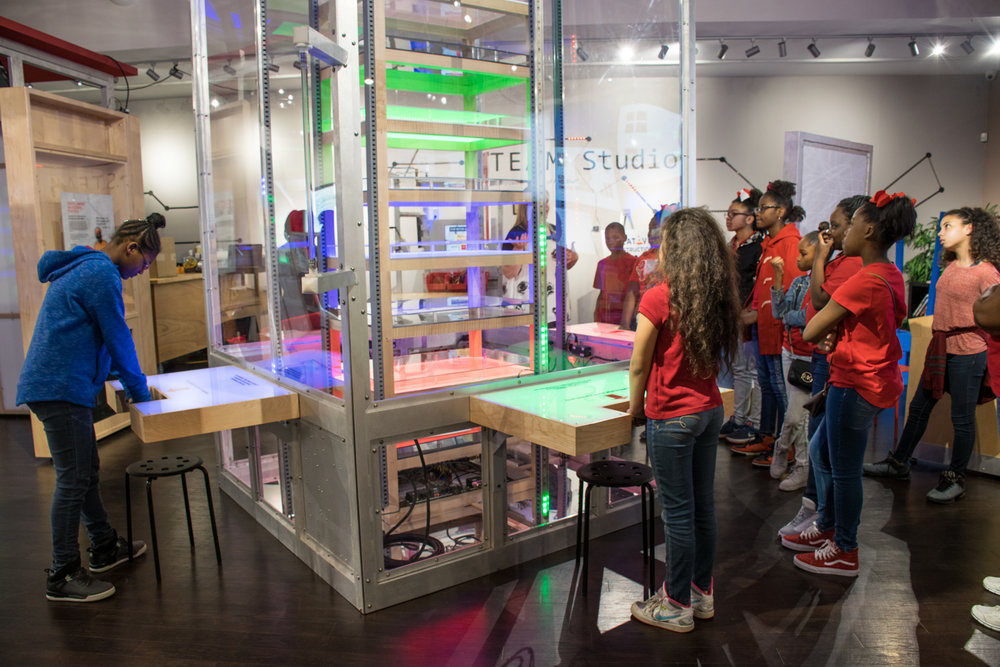 Arts Science Center Imaginate Exhibit Encourages