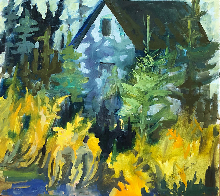 "Rebecca Thompson, ""Goldenrod Shadows"""