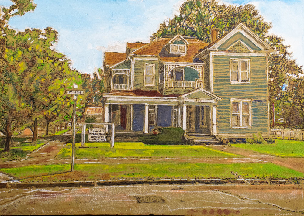 "John Kushmaul, ""Martha Mitchell House"""