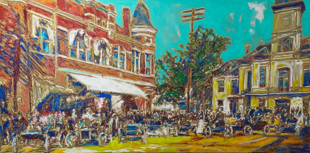 "John Kushmaul, ""Vintage Main Street"""