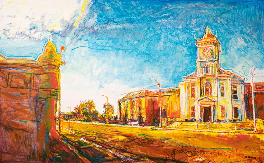 """John Kushmaul, """"Main Street 2018"""""""