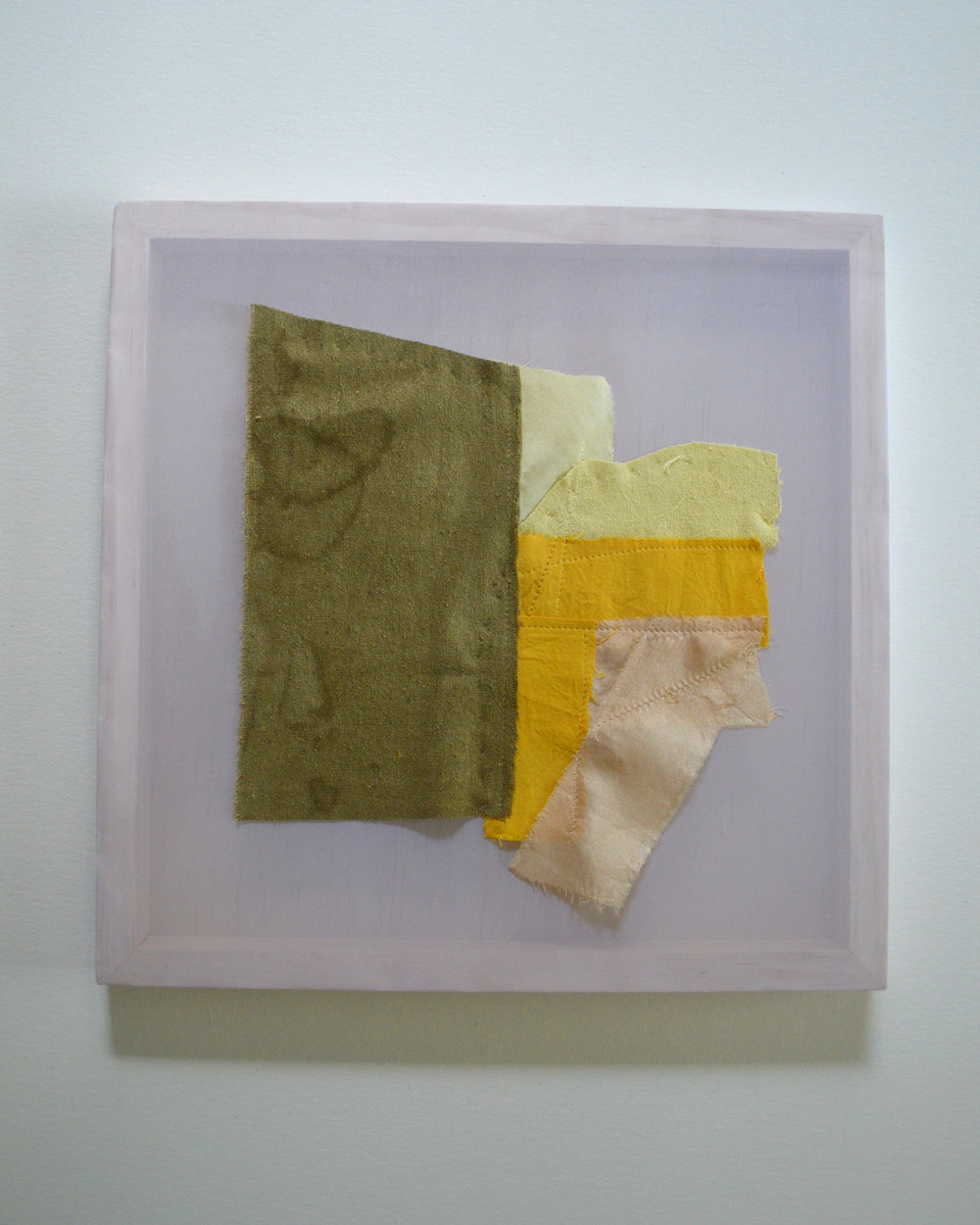 Sofia Gonzales   Hillcrest Hall, Hillcrest, AR   Raw Silk Dyed with Red and Yellow Onion Skin, Avocado and Mint