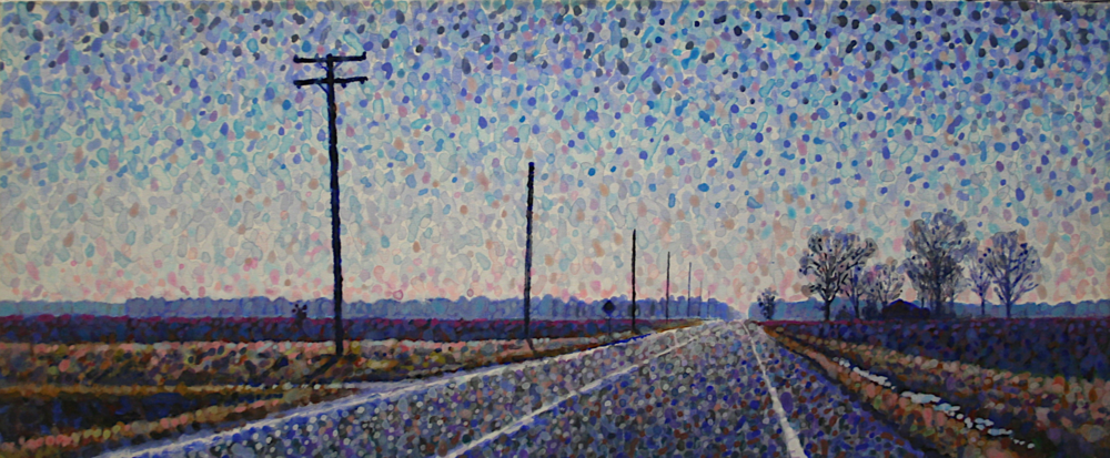 Tim Jacob   Hwy 11 South   Acrylic on Canvas