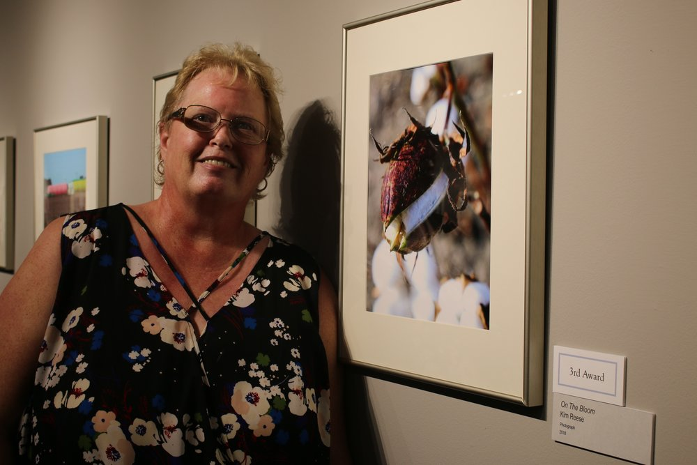 Kim Reese, her photo On the Bloom recieved 3rd Place.JPG
