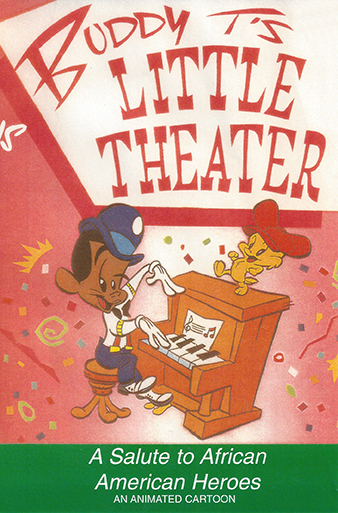 Vaughns and his wife, Betty Jean, released their film  Buddy T's Little Theater  in 2001 with their production company, Byron Vaughns Productions Inc. IMAGE COURTESY AND COPYRIGHT BYRON VAUGHNS