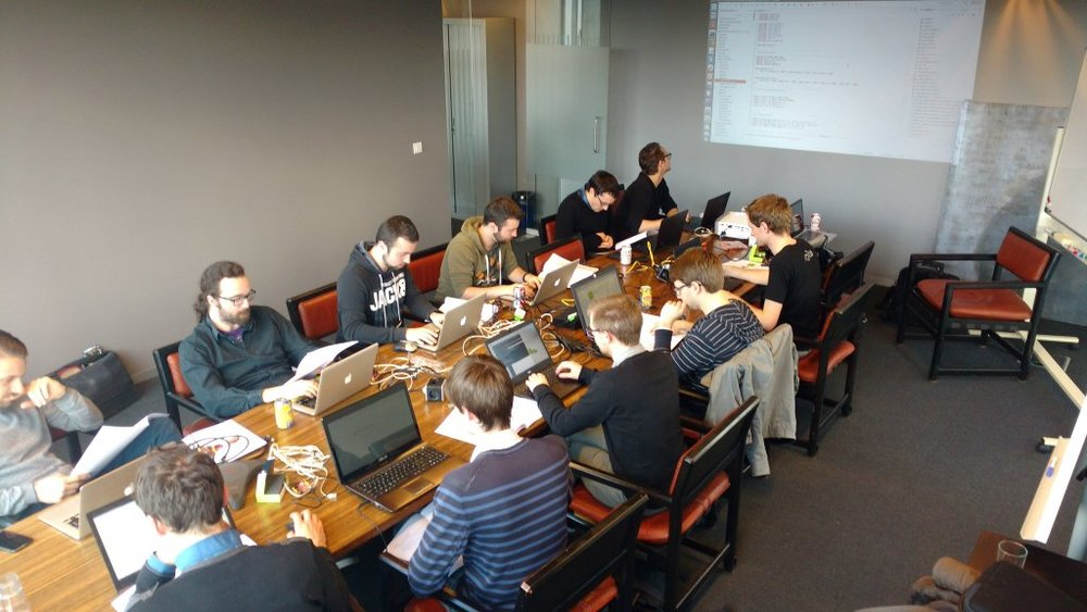picoTCP workshop held in our Leuven office