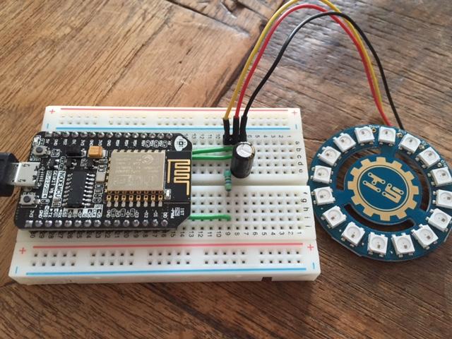 ESP8266 wifi chip