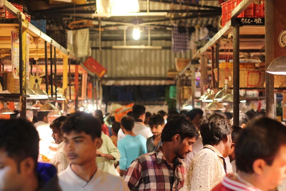 Mumbai's Dadar Flower Market.