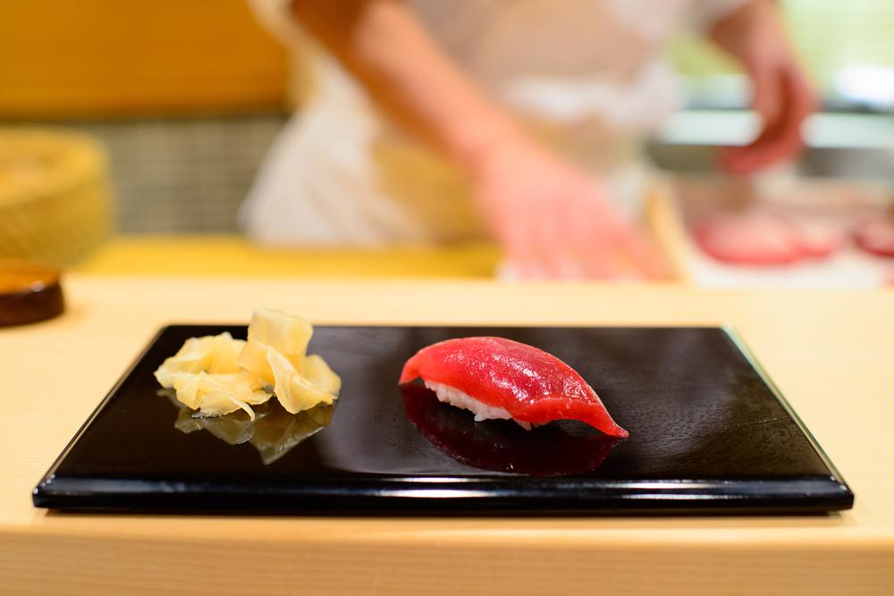Akami (lean tuna) / Sukiyabashi Jiro, Tokyo, Japan