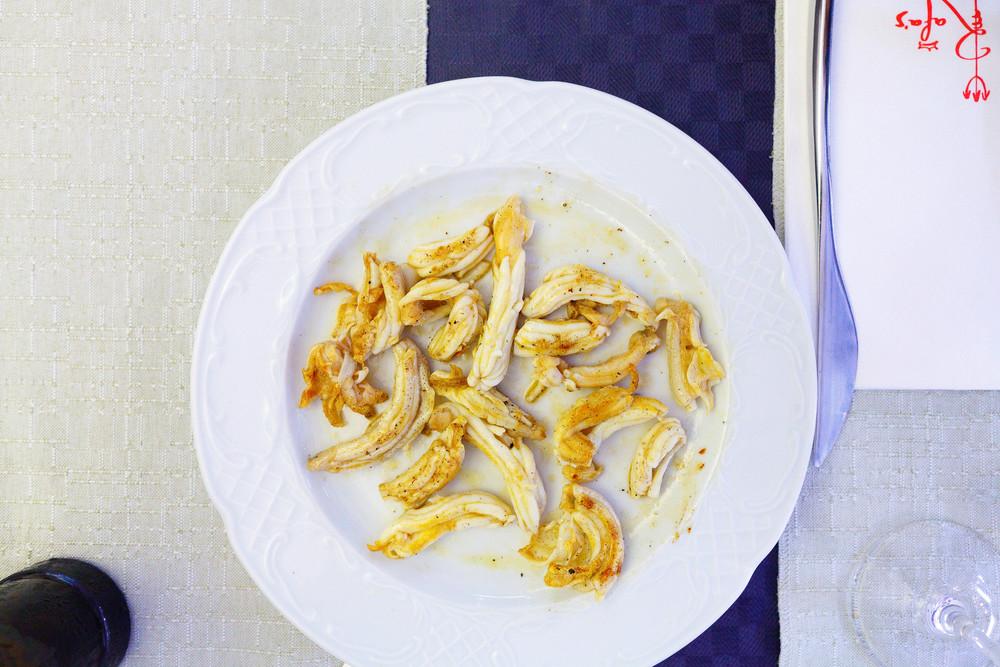 Rafa's, Spain - Espardenyes (Mediterranean sea cucumbers)