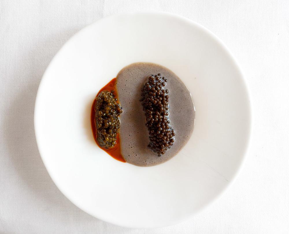 El Bulli, Spain - Caviar and Hazelnut