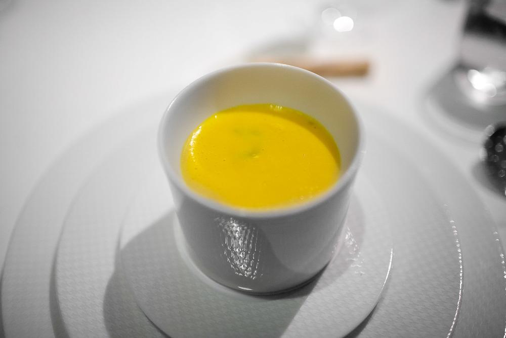 1st Course - La soupe de musquée de provence