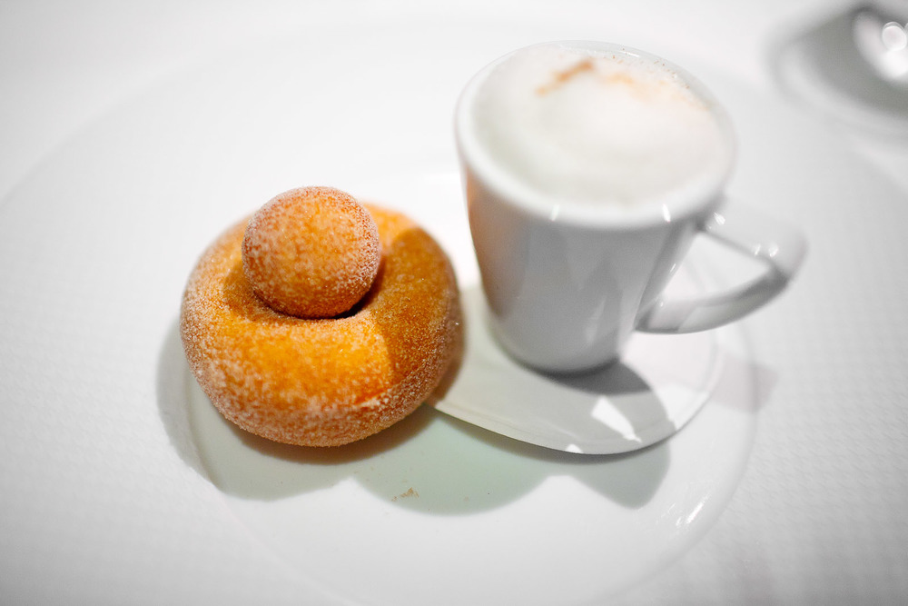 13th Course- Coffee and Doughnuts