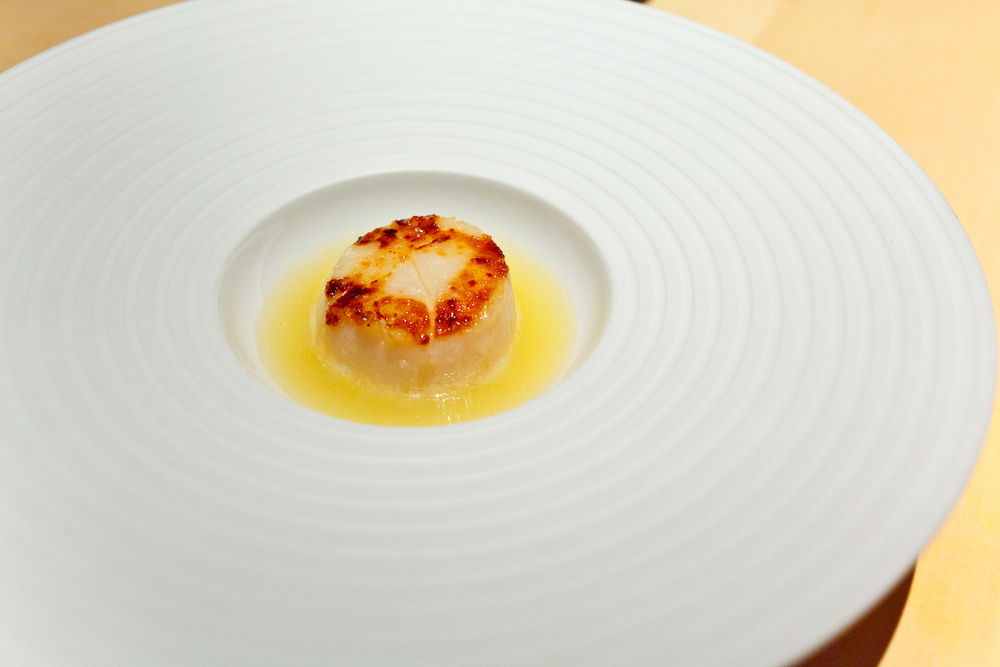 L2O, Chicago - Scallop, champagne