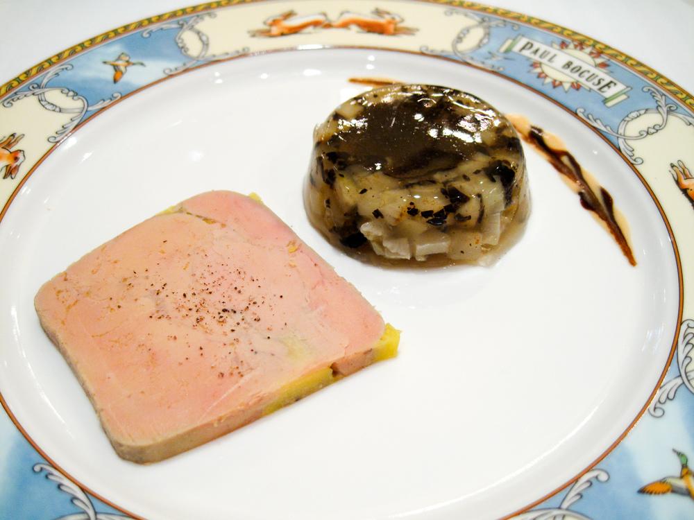 Paul Bocuse - Foie Gras de Canard Maison en Gel�e au Sauternes A