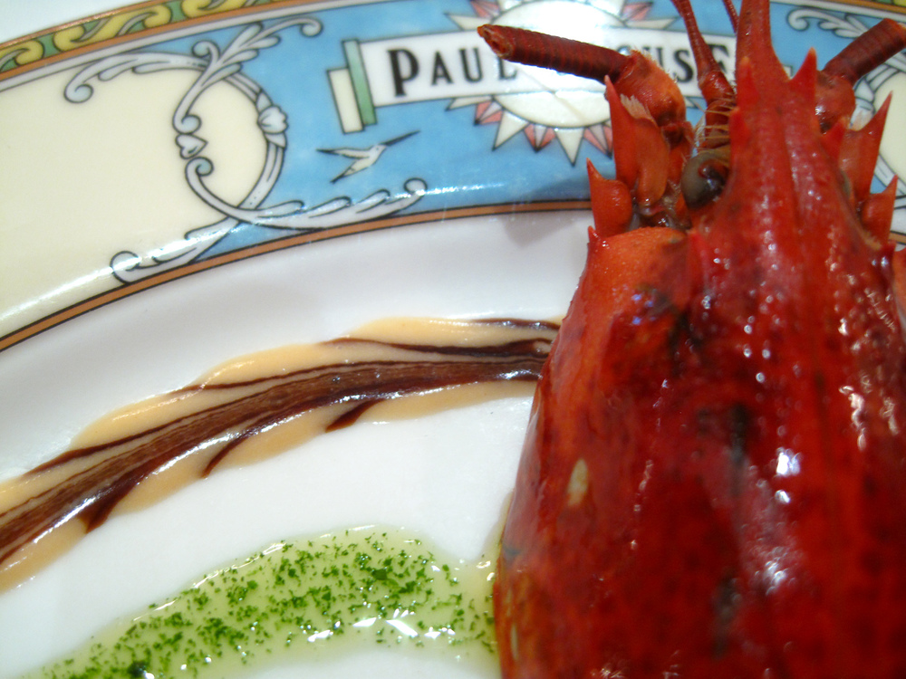 Paul Bocuse - Salade de Homard du Maine Printani�re La T�te