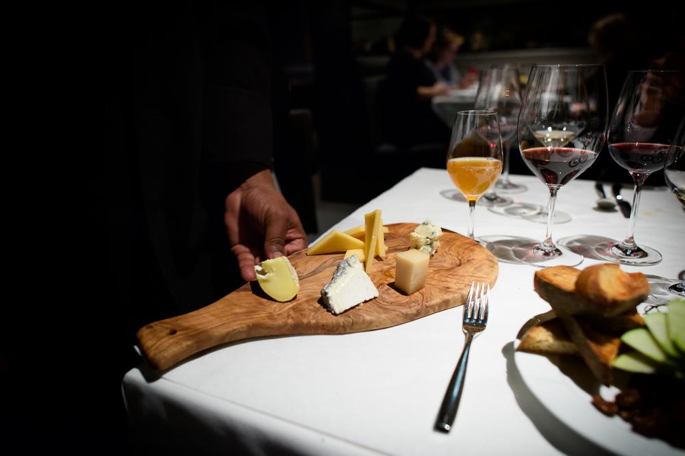 14th Course: Assiette de fromage