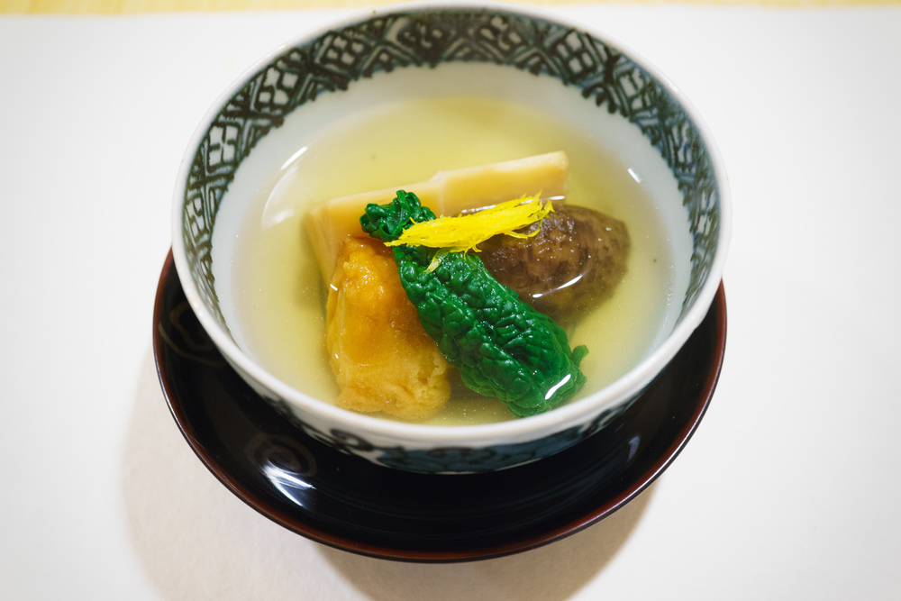 10th Course: Taro soup