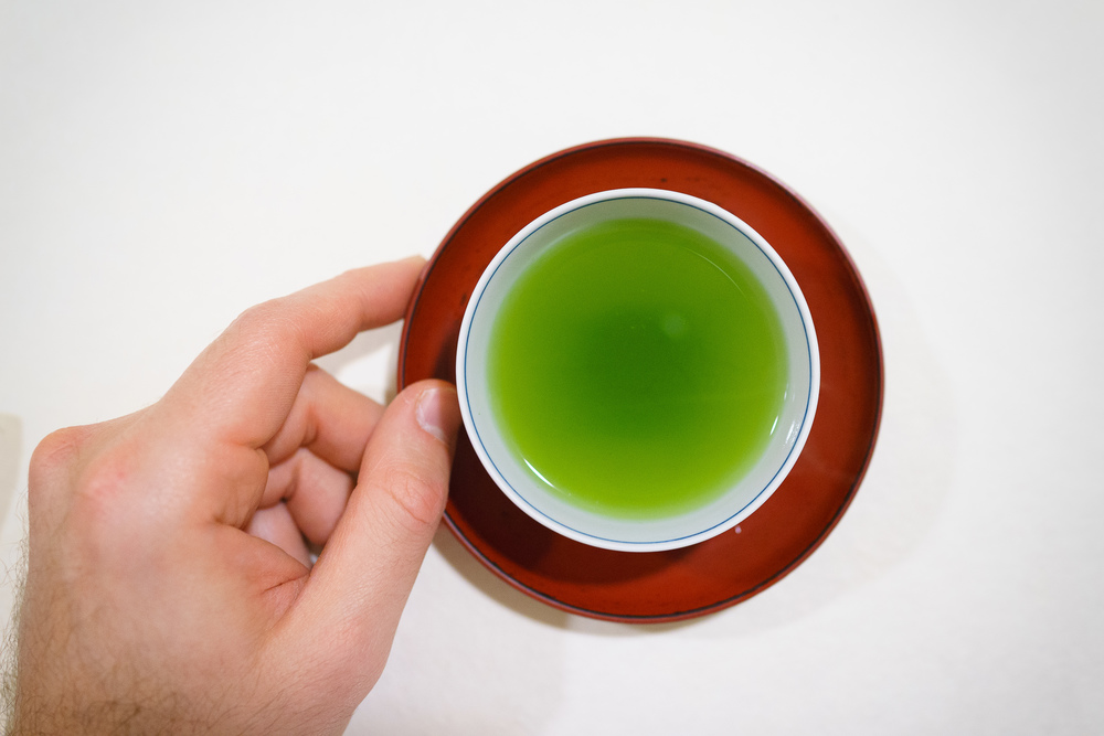 14th Course: Green tea