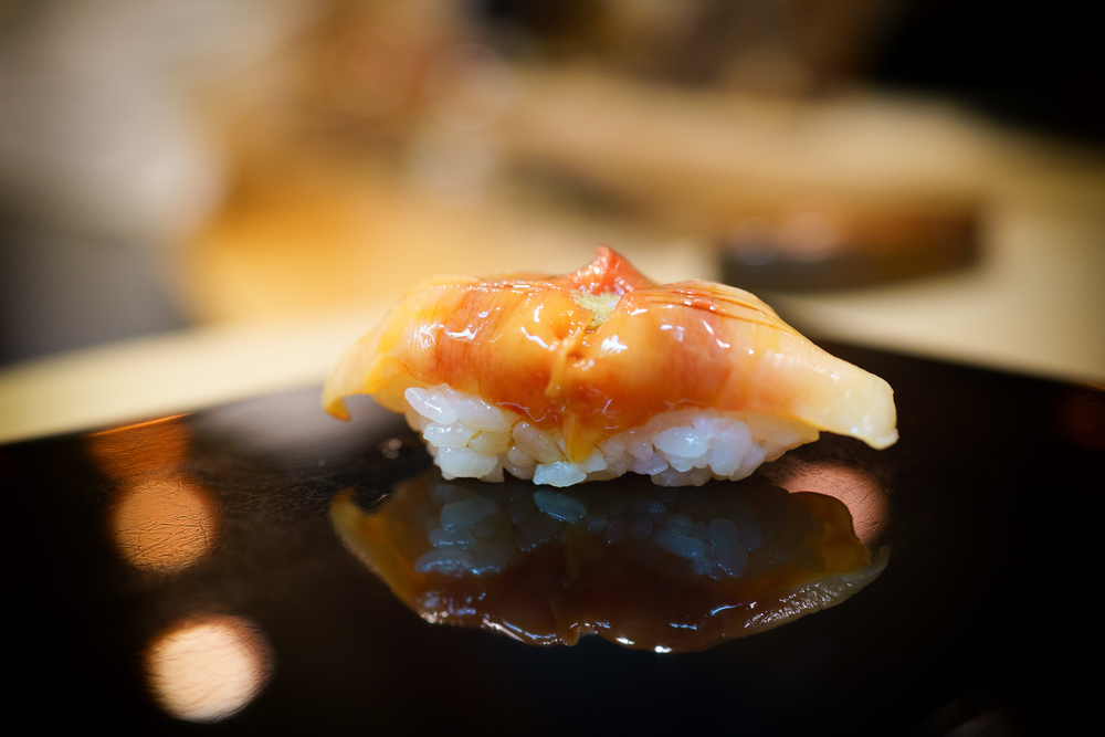 10th Course: Akagai (arc shell clam)