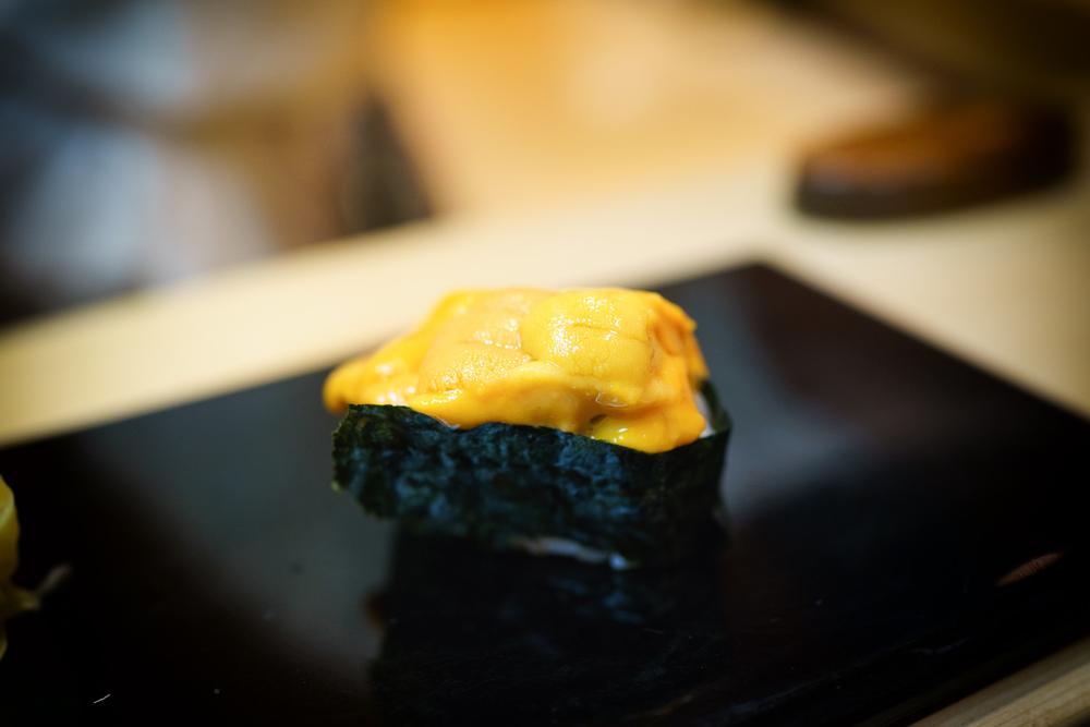 16th Course: Hokkaido uni (sea urchin)