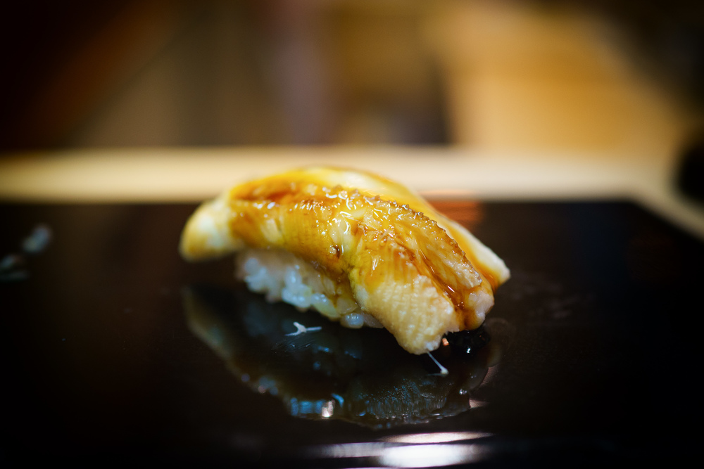 19th Course: Anago (saltwater eel)