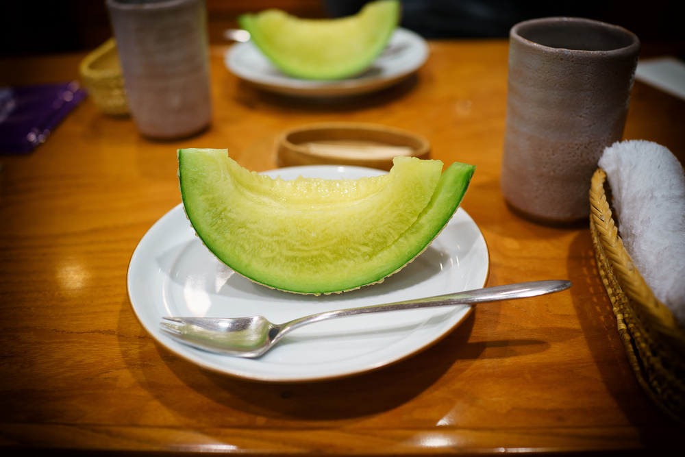 21st Course: Musk melon