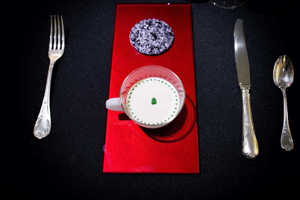 Le Caviar Impérial, dans une délicate gelée recouverte d'une