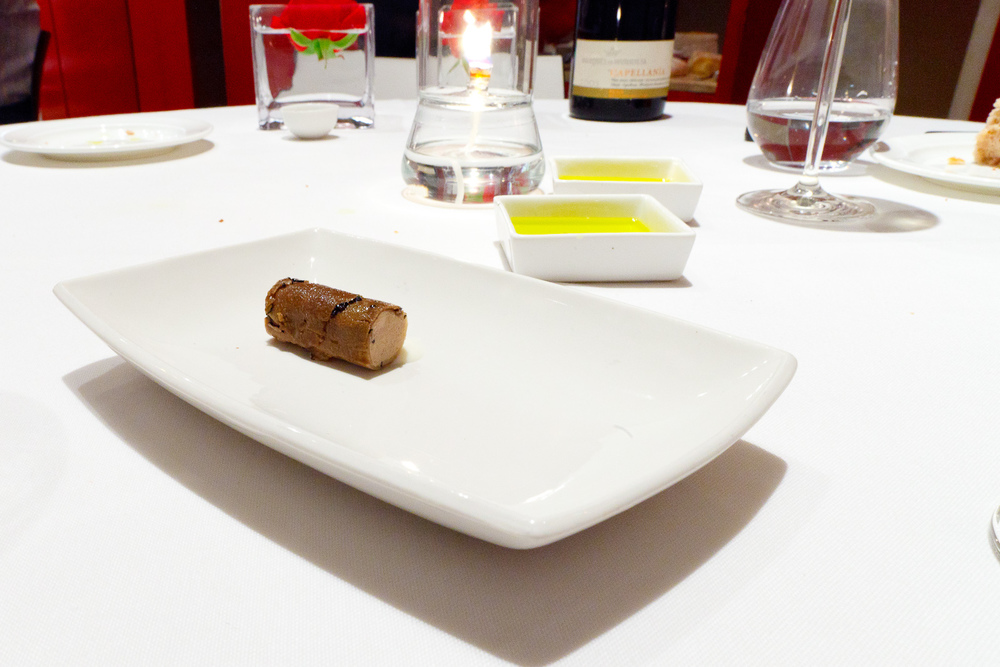 Hisop, Spain - Rabbit terrine and summer truffle
