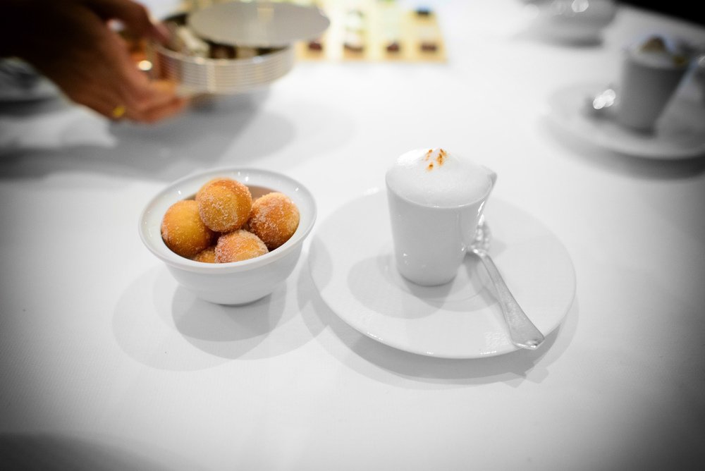 "23rd Course: ""Coffee and Doughnuts"""