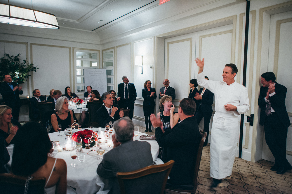 Chef Thomas Keller at the 60th Anniversary Dinner of Relais & Ch