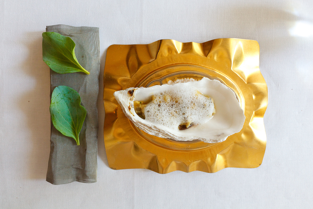 El Bulli, Spain - 20th Course: Oysters and bone marrow tartar