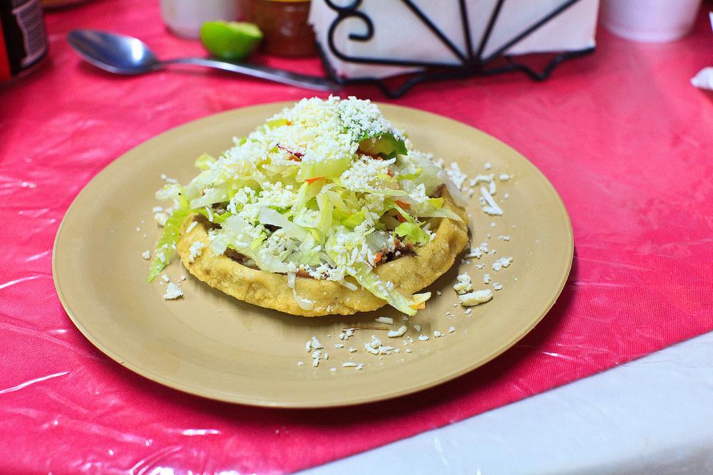 Cenaduría Sinaloense la Espiguita, San José del Cabo, México - Sope de carne