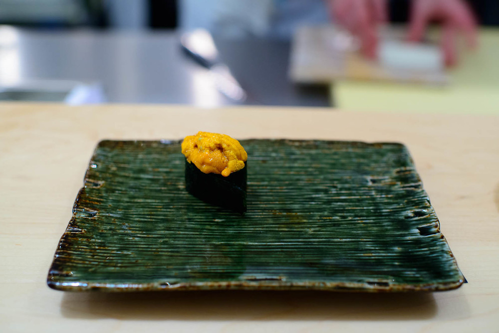 12th Course: Santa Barbara sea urchin