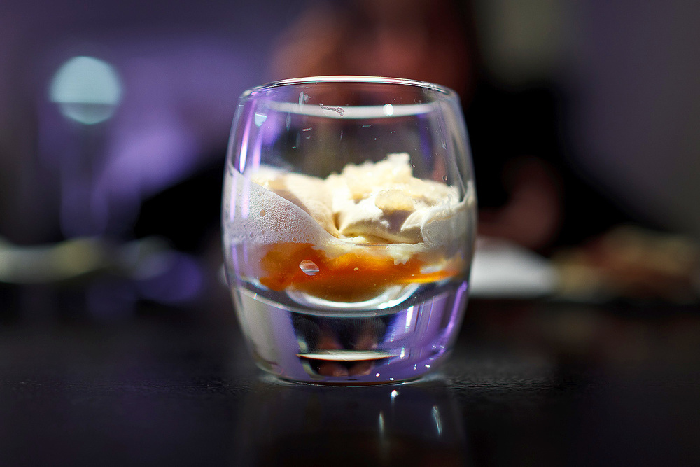 Alinea, Chicago - Blue crab, carrot, five spice, duck