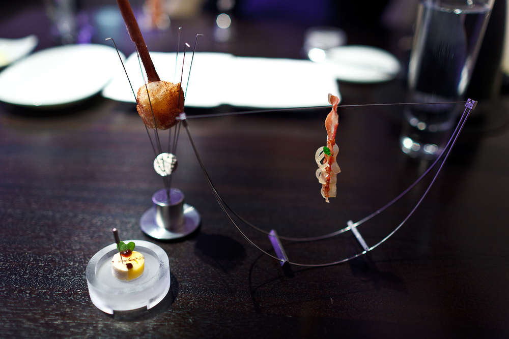 Alinea, Chicago - Bacon, butterscotch, apple, thyme