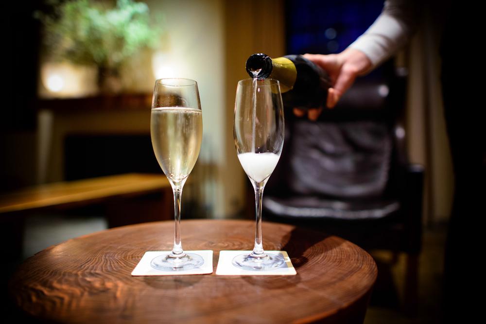 Lieb Cellars sparkling wine