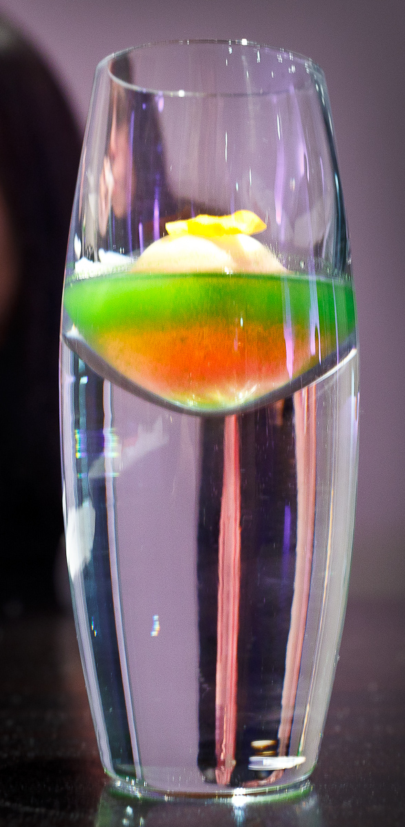 Alinea, Chicago - Watermelon, lime, nasturtium