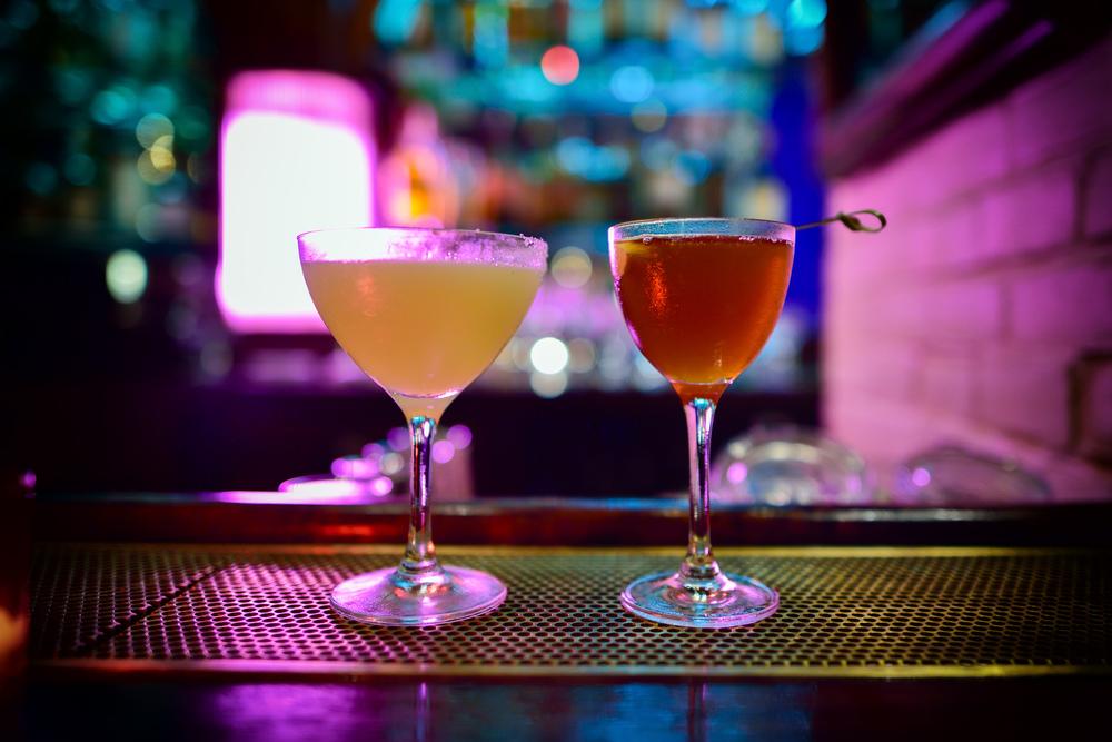 Belmondo - Blanco tequila, pear eau de vie, ginger, gentian, fre