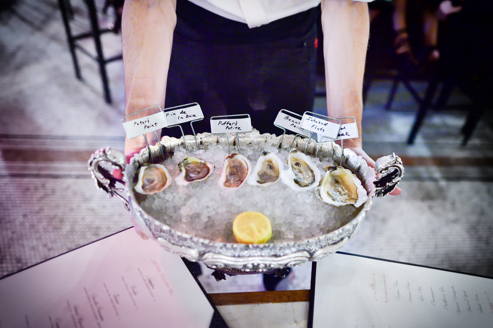 Oyster selection