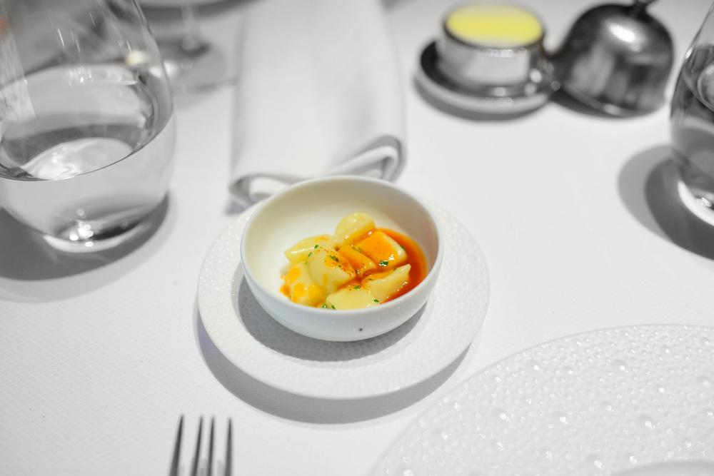 7th Course: Lobster - Light potato gnocchi