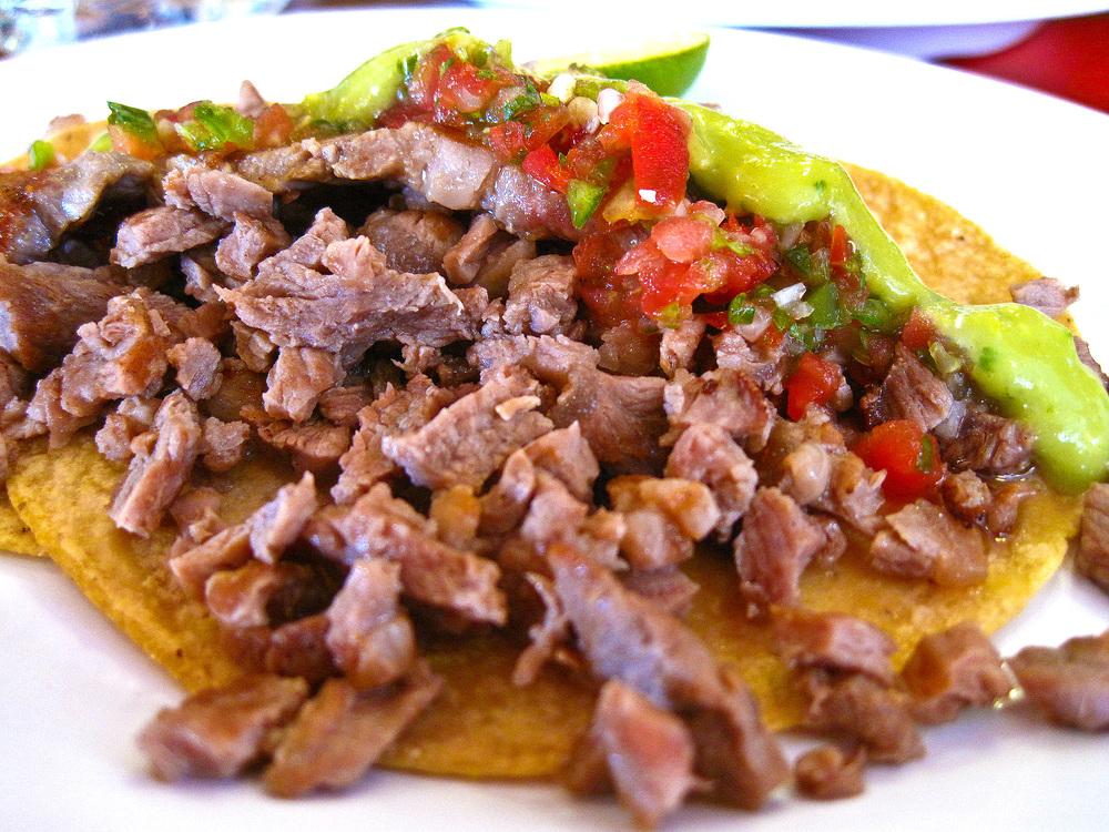 El Charco de las Ranas, Mexico City - Taco de Puerco
