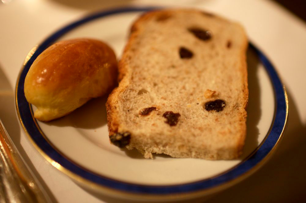 pan de leche y pan de pasas de uva