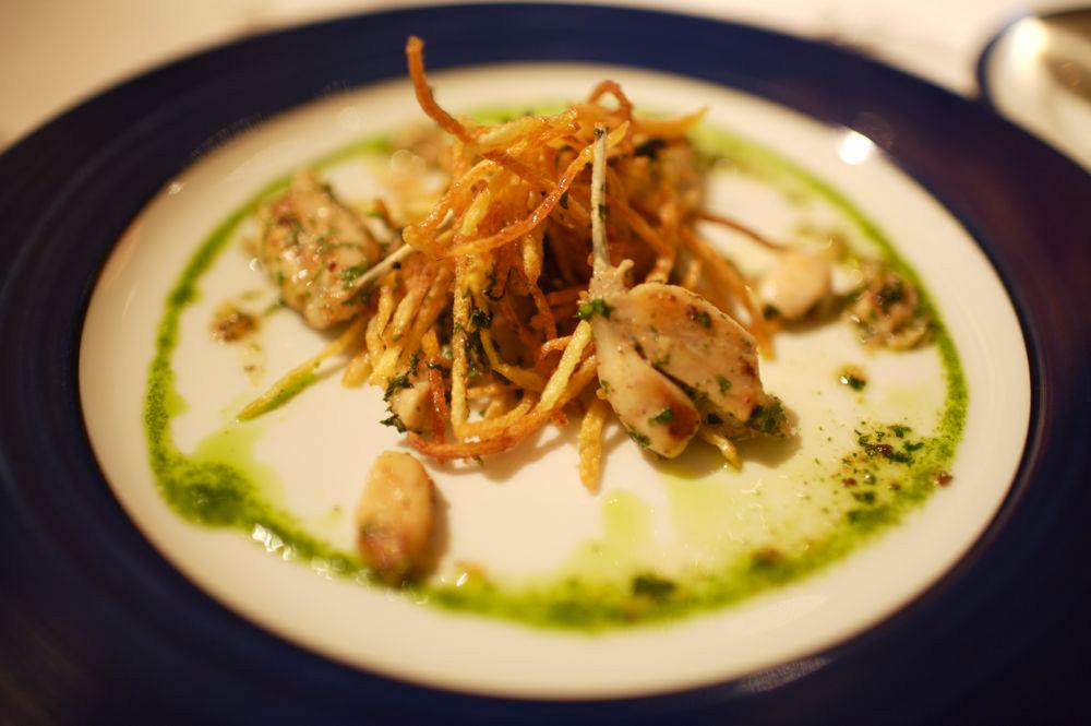 buisson de cuisses de grenouilles au persil aillé
