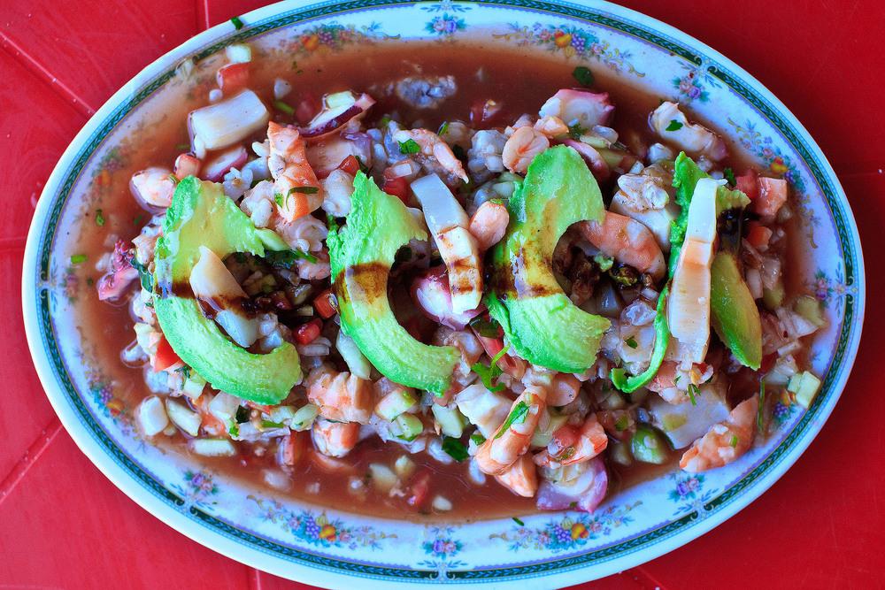 Mariscos Cepy's, Los Mochis - Mariscos con aguacate