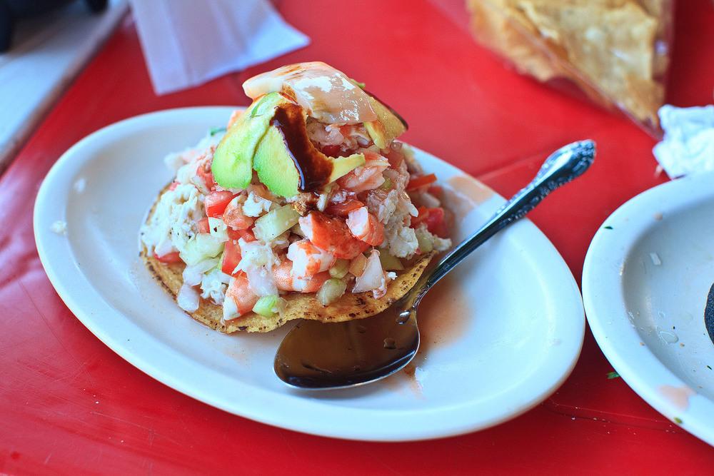 Mariscos Cepy's, Los Mochis - Tostada de Jaiba